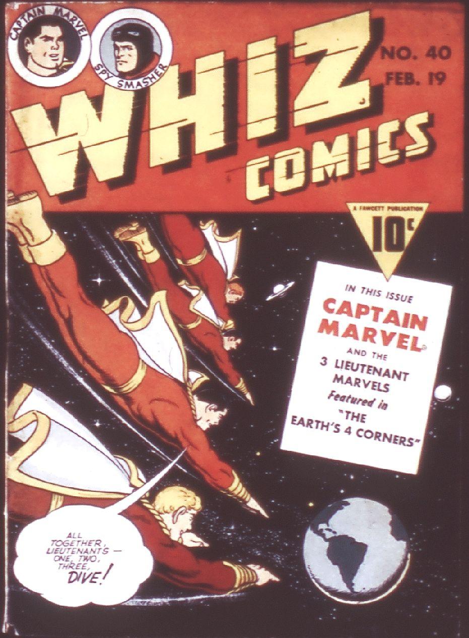 WHIZ Comics 40 Page 1