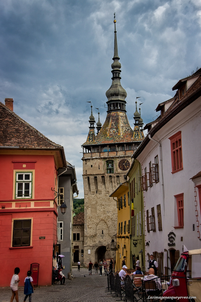 Rumanía, Romanía, Shghisoara, lugar de nacimiento del  lugar de nacimiento del Principe Vlad Tepes, el empalador. Dracula