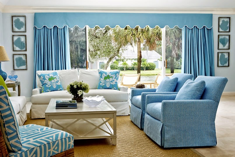 Choose Best Color Home Fabrics For Your Living Room Decoration