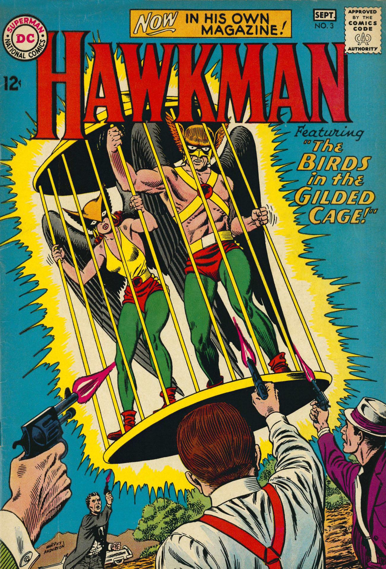 Hawkman (1964) 3 Page 1