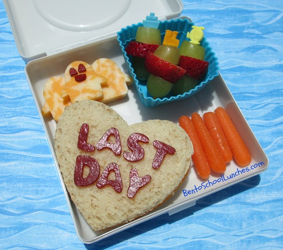 Last Day Of School Bento Lunch