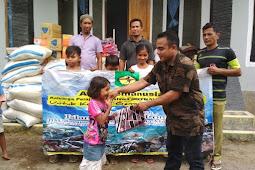 Kepma Bima Yogya Salurkan Bantuan dan Beri Trauma Healing Korban Gempa Lombok