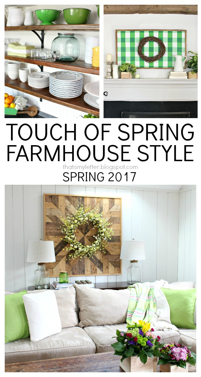 spring farmhouse style decor