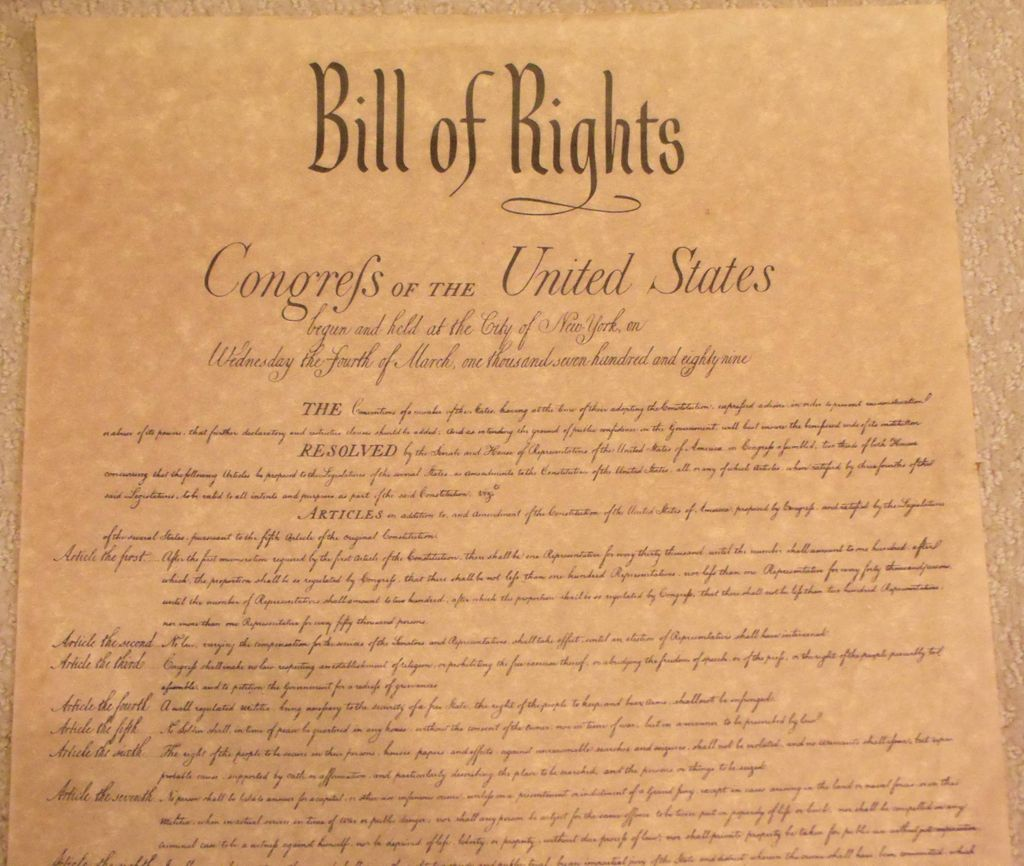 Hla Oo S Blog Bill Of Rights Of The United States Of
