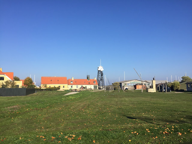 The small village Dragør built in 1515 by Dutch immigrants