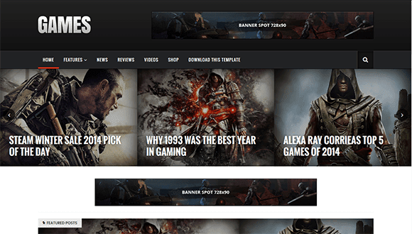 Sora Games blogger theme