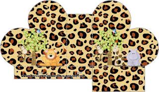 Caja abierta en forma de corazón de La Selva de Juguete.