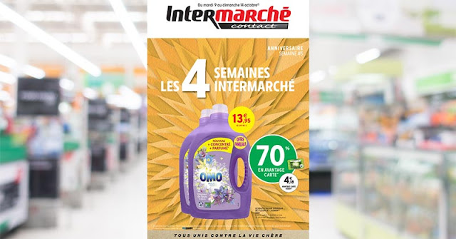 Catalogue Intermarché Conatct Du 09 Au 14 Octobre 2018