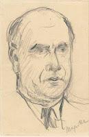 Portrait de Paul Colinet par Magritte