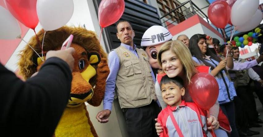 PCM: Mercedes Aráoz asegura que gobierno continuará invirtiendo en educación