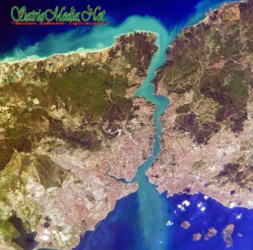 Keindahan Kota Istanbul Dari Atas