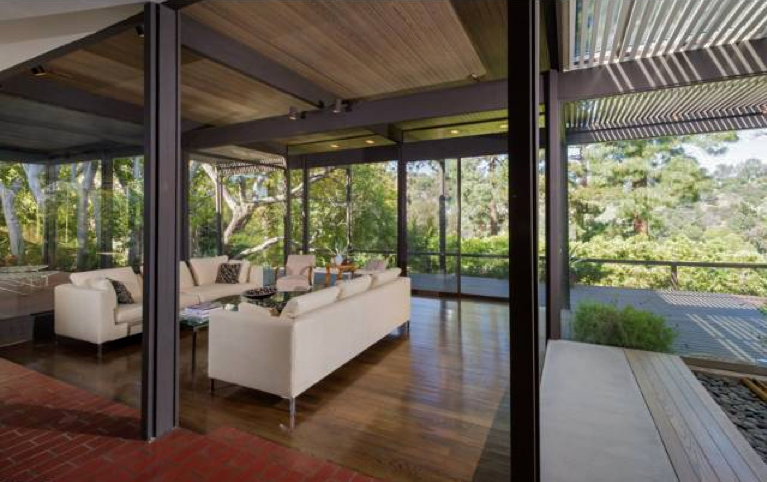 Ray Ke S 1960 Kenter Way House A Rustic Modern