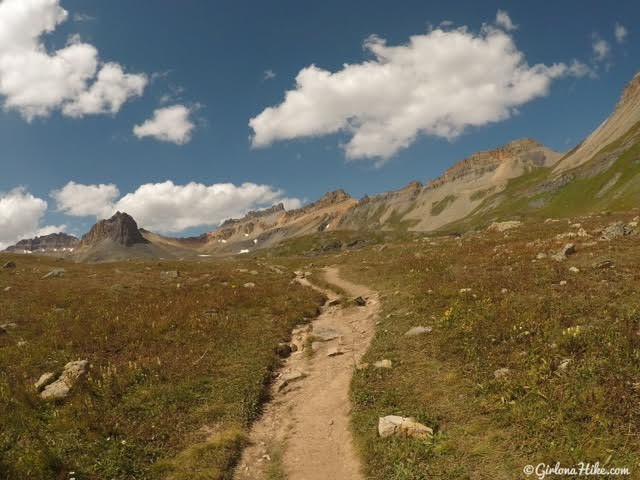 Hiking to Ice Lakes Basin, Colorado
