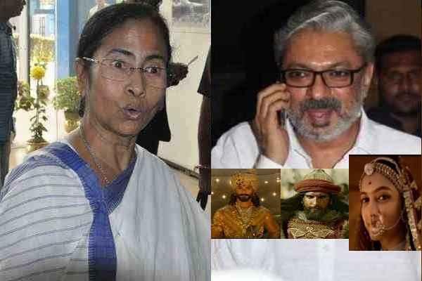 टीम-भंसाली के लिए खुशखबरी, ममता बनर्जी बोलीं, बंगाल में लगाओ पद्मावती, देखती हूँ कौन रोकता है