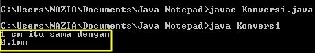 Logic error pada pemrograman Java