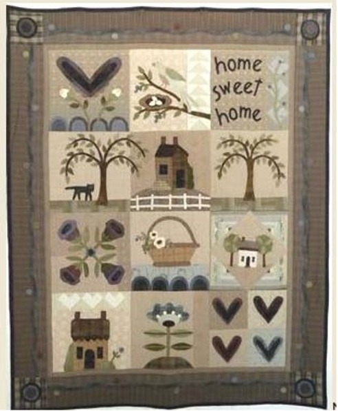 pour le HEART and HOME QUILT  de Kathi Campbell