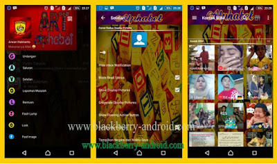 BBM Mod Alphabet Art Themes New v2.12.0.11 APK