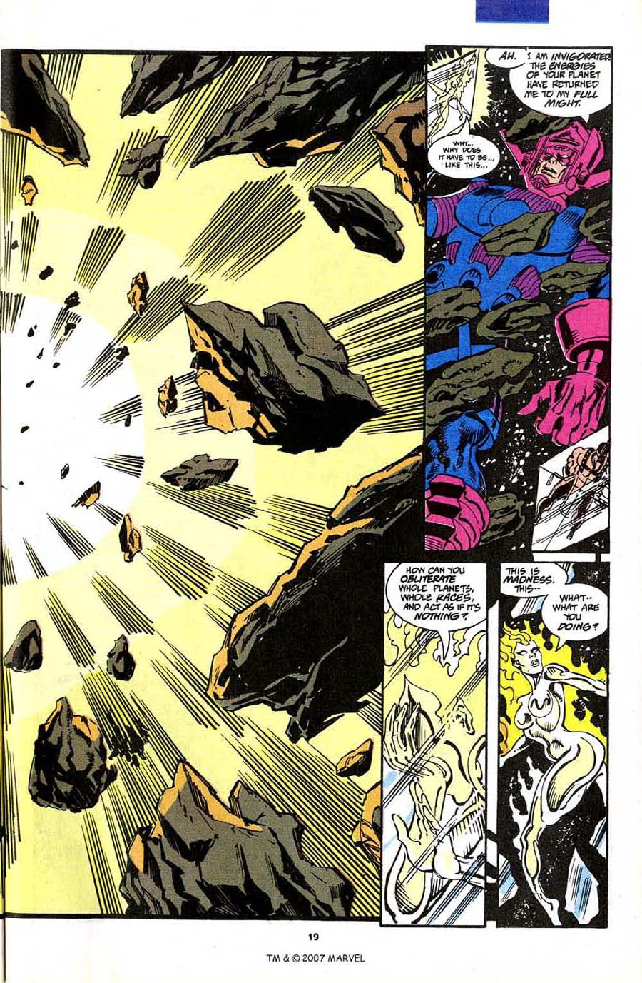 Read online Silver Surfer (1987) comic -  Issue #70 - 21