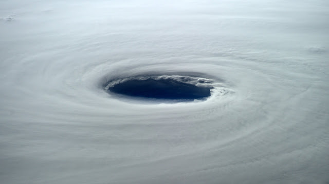 Super Typhoon Vongfong from ISS