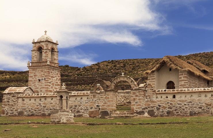 sitios turisticos de oruro bolivia capilla curaguara de carangas