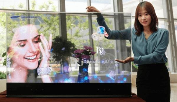سامسونج تقدم طلب للعلامة التجارية الجديدة - هل التلفزيون الشفاف قادم ؟