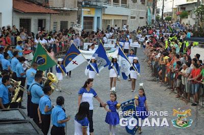 Comemorações da Independência do Brasil começou em Goiana