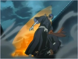 โอริฮิเมะกับอิชิดะ vs คุโรซึจิ