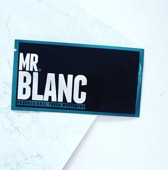 Mr Blanc Professional Teeth Whitening Strips