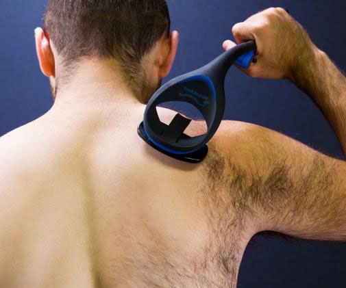 Avoid looking like Bigfoot when you take off your shirt in public by manscaping with this DIY back/body shaver. It features a long handle to tackle those hard-to-reach places and features patented blade cartridges designed to minimize the risk of cutting yourself.