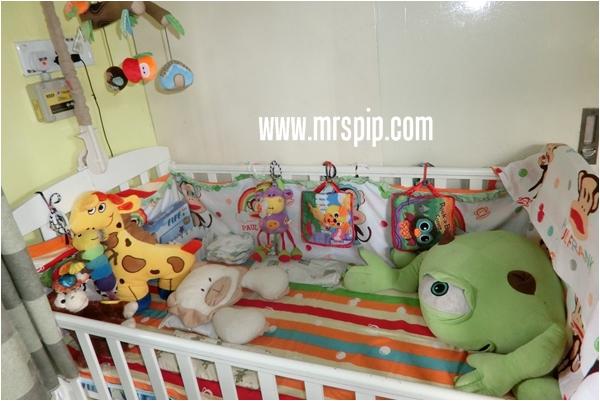 'Animal Theme' untuk katil Baby NH