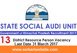 District Resource Person