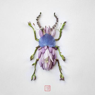 Raku Inou- kwiatowe owady