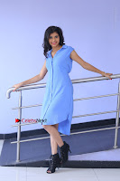 Telugu Actress Mounika UHD Stills in Blue Short Dress at Tik Tak Telugu Movie Audio Launch .COM 0056.JPG