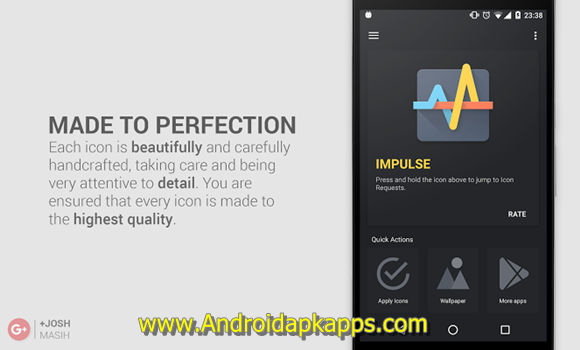 Impulse Icon Pack Apk v1.0.2 Android Latest Version Gratis 2016