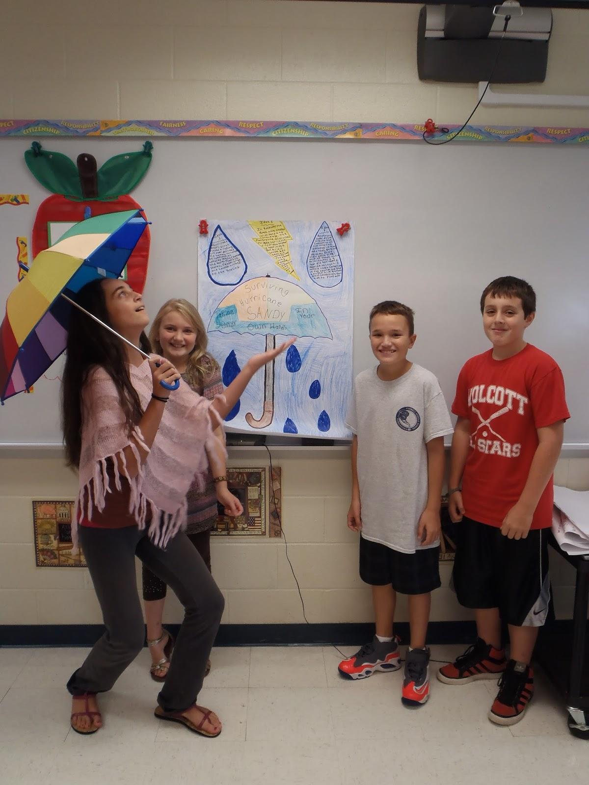 Tyrrell Middle School Under The Main Idea Umbrella