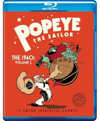 Popeye The Sailor The 1940s Volume 2 Bluray
