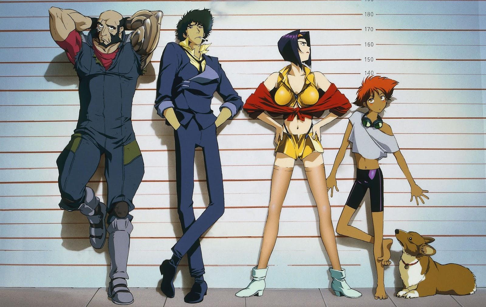 cowboy bebop 01thumb Top 10 bộ anime hành động mà bạn không thể bỏ qua