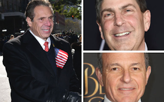 Bob Iger, Jeff Shell & More Moguls Give NY Gov. Andrew Cuomo Big H'wood Cash & POTUS Shine