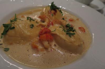 Brasserie Gavroche, fish quenelle