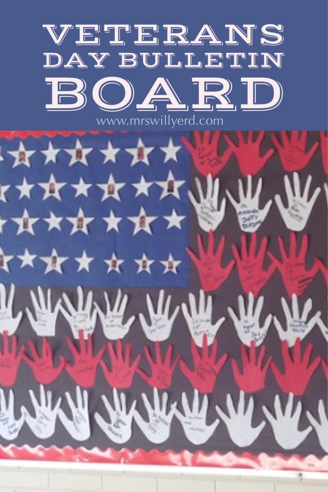 Mrs Willyerd S Virtual Classroom Veterans Day Bulletin Board