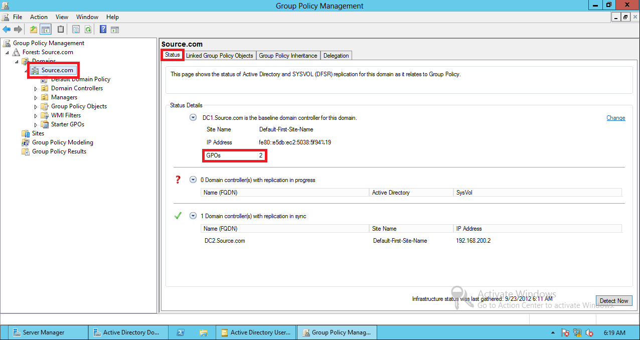 AD Shot Gyan: Group Policy Management Console in Windows