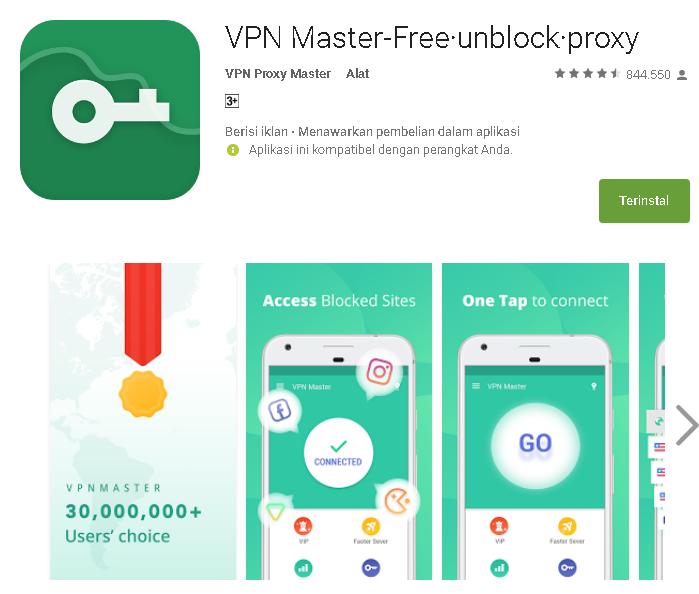 Ulasan Secara Lengkap Tentang Vpn Master Free Unblock Proxy Kumpulan Remaja