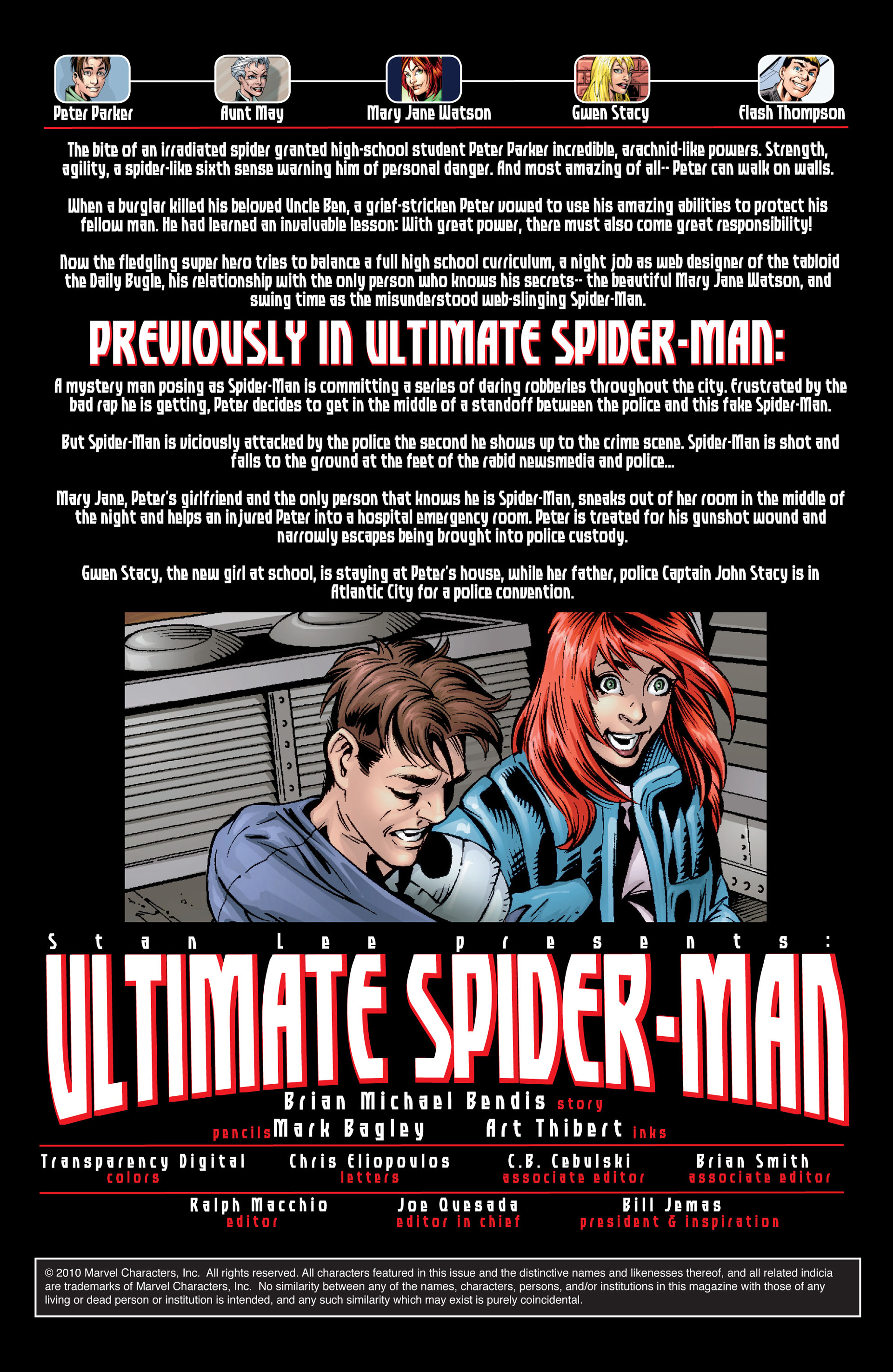 Read online Ultimate Spider-Man (2000) comic -  Issue #31 - 4