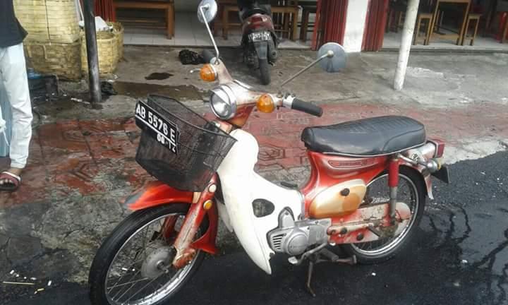 JURAGAN MOTOR ANTIK JOGJA Jual Honda Kalong Sipitung C70