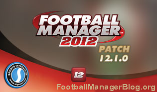 Football Manager 2012 12.1.0 Patch