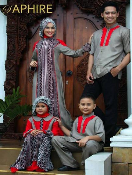 Model Pakaian Muslim Couple Keluarga Trend Terbaru