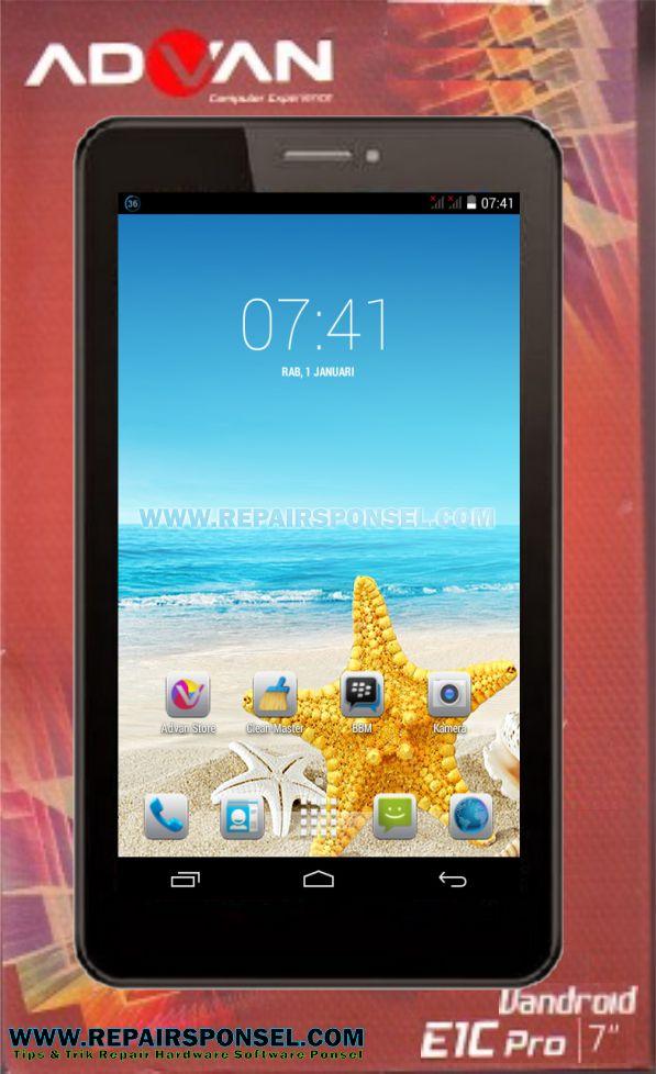 Cara Flash Advan E1C Pro P7025 V10 KK442