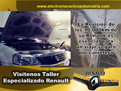 Revision para viajes Renault