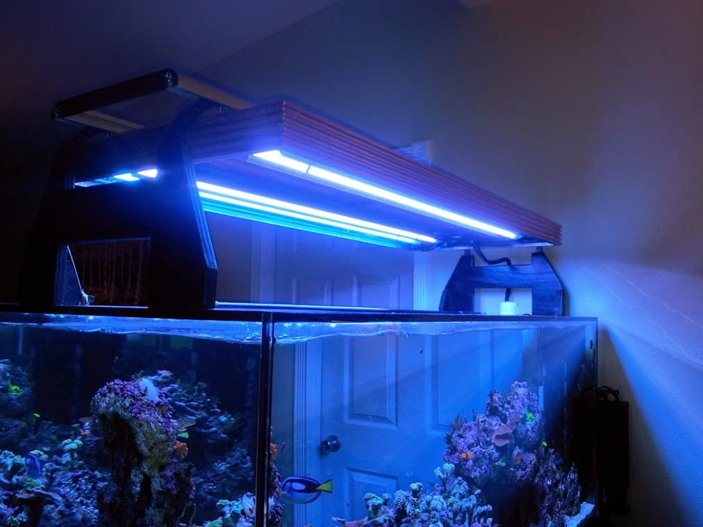 By Creating This Hybrid Lighting System I Am Able To Get The Both World Great Features Controllability Fluorescence And Efficiency Of Led Lights