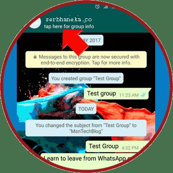 Cara Meninggalkan Grup Chatting/Obrolan WhatsApp Secara Permanen,Ini Caranya 2